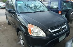 Clean Honda CRV 2003 Black for sale