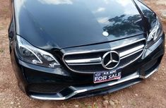 Mercedes Benz E350 2010 Upgraded To 2016 Black for sale