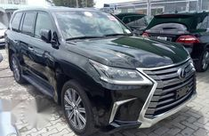 LEXUS Lx570 2017 Black for sale