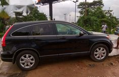 Clean Honda CR-V 2007 Black for sale