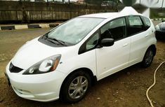 Honda Fit 2011 White for sale