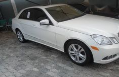 Mercedes Benz E350 2010 White for sale