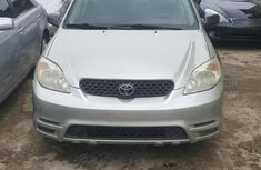 Super Clean Tokunbo Toyota Matrix 2004 Silver