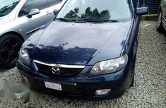 Mazda 323 2002 Blue for sale