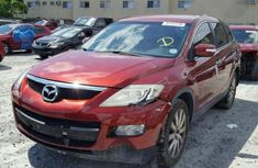 Tokunbo Mazda Cx-9 2009 Red For Sale
