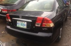 Neat Used Honda Civic 2003 Black for sale
