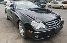 Mercedes Benz CLK 550 2008 Black for sale