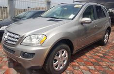 4matic Mercedes-benz ML350 2006 Gold for sale