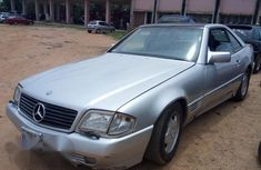 Mercedes Benz SL 2003 Silver for sale