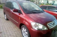 Neat Tokunbo Toyota Avensis 2003 Red