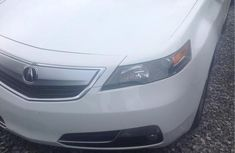 Clean Acura TL 2012 White for sale