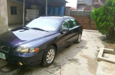 Clean Volvo S60 2003 Blue for sale