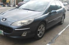 Clean Peugeot 407 2007 Gray for sale