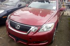 Lexus GS350 2008 Red for sale