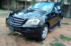Very Clean Mercedes Benz ML350 2007 Black