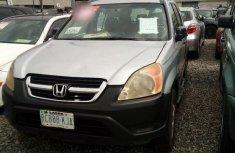 Honda CRV 2004 Silver for sale