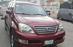 Lexus GX 470 2008 Red for sale