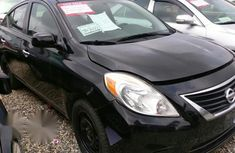 Nissan Versa 2013 Black for sale
