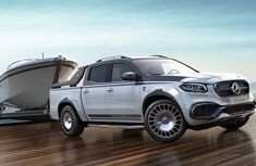 Check out this Maybach-y Mercedes Benz X-Class