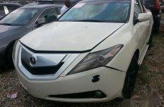 Super Clean Acura ZDX 2010 White for sale
