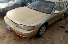 Honda Accord 1997 Gold for sale