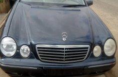 Direct Tokunbo Mercedes-Benz E240 2002 Blue for sale