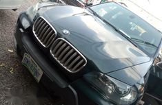 BMW X5 Jeep 2008 Green for sale
