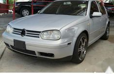 Clean Volkswagen Golf 2000 Silver for sale