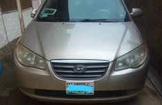 Hyundai Elantra 2007 Gold for sale