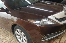 Used Acura ZDX 2011 Brown for sale