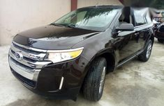 Very Clean Foreign Used Ford Edge 2012 Brown