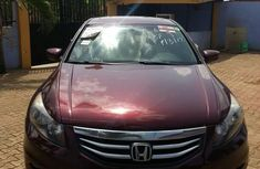 Honda Accord V6 EX-L 2012 Red for sale