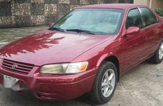Clean Toyota Camry 1999 Red For Sale