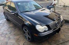 Clean Mercedes-Benz C240 2003 Black For Sale