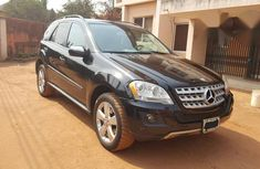 Mecedes Benz Ml350 2009 Black for sale