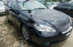 Lexus ES 2009 Petrol Automatic Black for sale