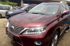2013 Lexus RX for sale in Lagos