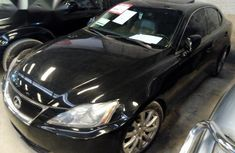 Lexus IS 2007 Black For Sale