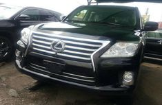 Lexus LX 2014 Petrol Automatic Black