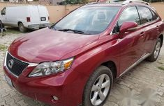 Lexus RX350 2012 Red for sale