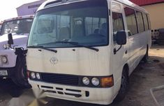 Toyota Coaster 2011 Silver for sale