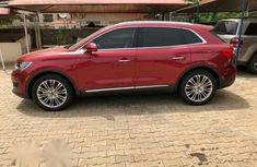 Brand New Lincoln MKX 2017 Red for sale