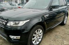 Clean Foreign Used Range Rover Sport 2016 Black