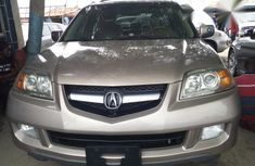 Clean Acura MDX 2004 Gold for sale