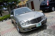 Clean Used Mercedes Benz E350 2008 Gray for sale