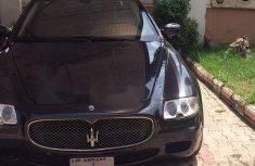 Maserati Quattroporte 2008 Petrol Automatic Black