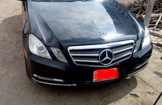 Used Mercedes-Benz E350 2010 Black