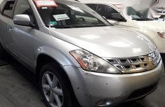 Clean Nissan Murano 2005 Silver for sale