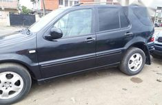 Clean Mercedes Benz Ml320 2002 Black