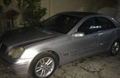 Mercedes-Benz C180 2006 Silver for sale